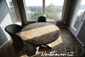 Gray Reclaimed Wood Tables with Smooth, Durable Finishing Oakville / Halton Region Toronto (GTA) image 7