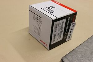 CANON AF-S 40 2.8 STM / new condition*