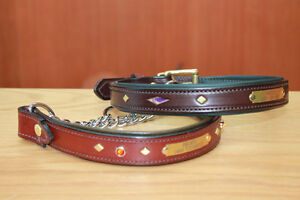 HANDMADE CUSTOM LEATHER DOG COLLARS,LEASHES, BELTS & HARNESS Peterborough Peterborough Area image 6