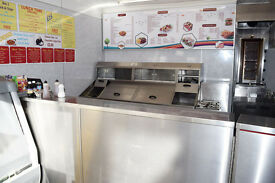 FISH & CHIPS & PIZZA SHOP SALE..Fast Food Chippy for sale on busy road covering large estate