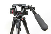 Manfrotto Video Head and Tripod