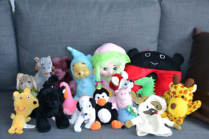 Assorted Stuffies and Puppets