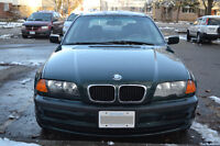 1999 BMW 323i 6cyl Sedan - Green - FIRST WITH 900$ DRIVES AWAY