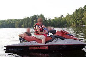 Seadoo 2005 RXT 215hp 3-UP supercharged w cover & Triton Trailer