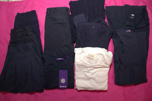Lot of Girls Size 8 Uniforms (12 Items)