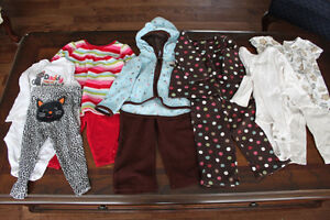 Girls Carters outfits size 12months