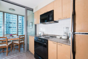 Super view, 2 bed and 2 bath in best Downtown Vancouver