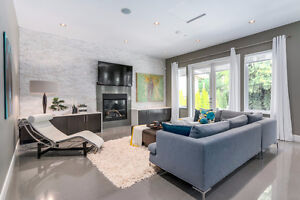 *NEW LUXURY 5 BED HOME FOR RENT IN WEST VANCOUVER