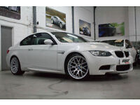 BMW M3 DCT Competition Pack, 12 Reg, 38k, Mineral White, EDC, Sat Nav, BMW S/H
