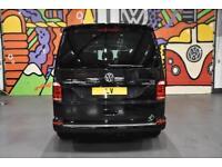 VW TRANSPORTER T6 T32 LWB 2.0BiTDi 204PS DSG KOMBI H/LINE LV SPORTLINE PK BLACK