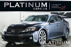 2008 Lexus IS F NAVIGATION/ ULTRA PREMIUM PKG/ NAVIGATION/ POWER