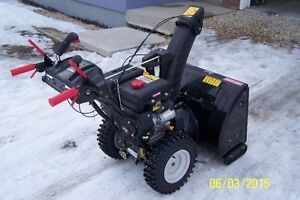 2013 Craftsman snowblower for sale.
