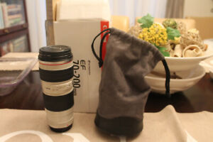 Canon 70-200 mm Zoom Lens