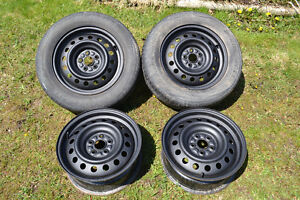 """for sale 4 steel rims 5x100 15"""""""