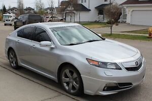 2012 Acura TL With Technology & Navigation