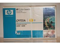 HP C9722A (641A) Original Yellow Toner Cartridge - Brand new in original unopened box