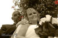 Photographie de mariage par une dame