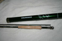 Amundson Wind Warrior Fly rods