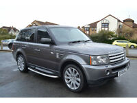 Range Rover Sport 4.2 V8 auto 2006 Supercharged, 134K MILES, FSH, NEW MOT