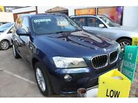 BMW X3 DIESEL ESTATE XDrive20d SE 5dr Step Auto Stunning Condition Inside And Ou