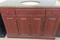Stonewood Bath Cabinetry DEAL OF THE DAY! Rustic Pine Vanity
