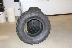 Two ATV Tires - 25x10-12