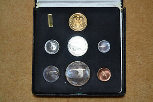 1967 Canada Proof Set With $20 Gold Coin London Ontario image 1