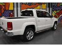 2015 VW AMAROK DOUBLE CAB 2.0BITDI HIGHLINE 180PS 4MOTION PICK UP WHITE