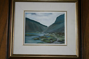 Original Landscape Oil Painting by M. Whitney