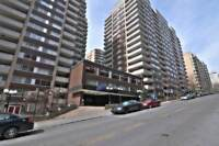 Downtown, gorgeous unit in luxury building, with all amenities