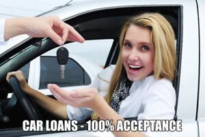 Car Loans - 100% Acceptance - Everybody Approved