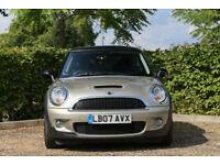2007 Mini Mini 1.6 COOPER S ( 175bhp ) ( Pepper ) AUTOMATIC ,NAVIGATION,LEATHER