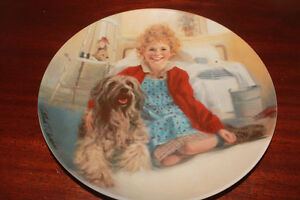 """KNOWLES """"ANNIE"""" Series Collector Plate # 3471"""