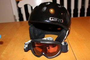 Giro youth ski/snowboarding helmets and goggles