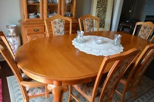 Table salle a manger Dining Room Table, Chairs, Hutch, Buffet