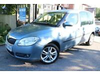 2007 Skoda Roomster 1.9 TDI Blue 5 Dr FMDSH PANORAMIC ROOF Finance Available