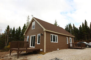Gorgeous water front cabin in Howley!