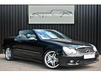 Mercedes CLK 55 AMG 5.4 V8 Convertible *Obsidian + Black Nappa + Facelift Model*