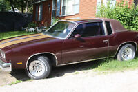 1980 Oldsmobile Cutlass Supreme Souped Engine Tons Parts