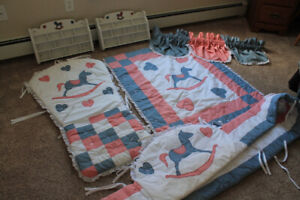 Crib Bedding and Nursery Accessories-Custom made