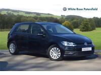 2017 Volkswagen Golf S 1.0 TSI 85PS 5-speed Manual 5 Door Petrol black Manual