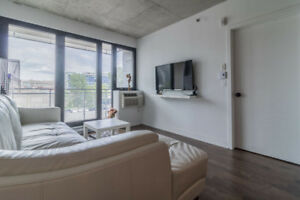 Griffintown 3 1/2 Luxueux Condo rent modern downtown Montreal