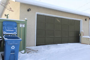 double detached garage. Marlborough, NE Calgary.