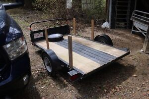 Trailer for sale. Utility trailer new axel and bearings.