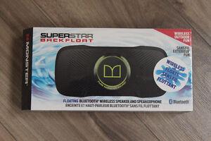 Monster SuperStar Backfloat Wireless Bluetooth Speaker NEW!