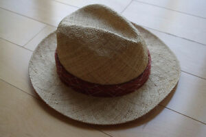 2 NEW and UNWORN Panama Hats M L - Made in Korea