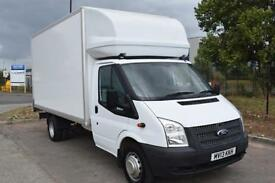 Ford TRANSIT 125 T350 RWD with a Luton Body