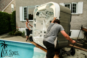 Best in the West! Hot tubs haulers 514 701 4950