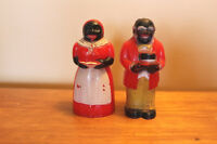 Old Mammie & Pappie Salt & Pepper Shakers