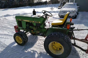 "John Deere Tractor with 60"" Blower"